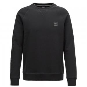 Boss Casual Wyan Sweatshirt in Black