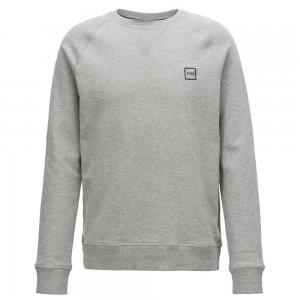 Boss Casual Wyan Sweatshirt in Light Grey