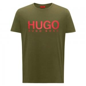 Hugo Dolive T-Shirt in Dark Green