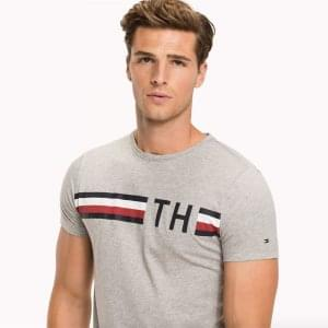 Tommy Hilfiger Graphic T-Shirt in Grey
