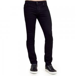 "True Religion Tony No Flap 32"" Regular Leg Jeans in Black"