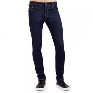 "True Religion Tony No Flap 32"" Regular Leg Jeans in Navy"