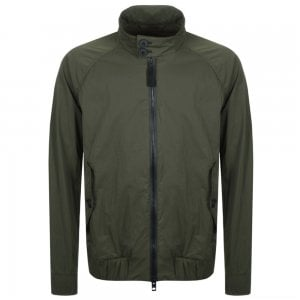 Boss Casual Osames-D Jacket in Green