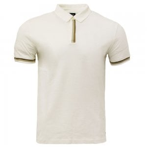 Paxto Polo Shirt in Cream
