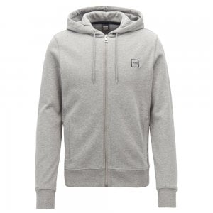 Boss Casual Znacks Sweatshirt in Light Grey