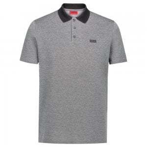 Hugo Dewlett Polo Shirt in Black
