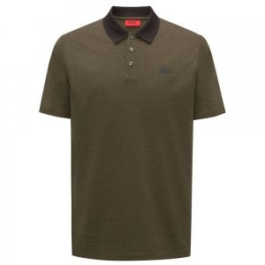 Hugo Dewlett Polo Top in Dark Green