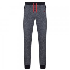 Emporio Armani Red Bottom Loungewear in Dark Blue