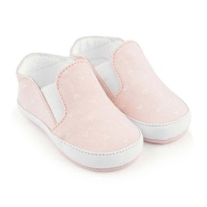 Armani Junior Baby Woven Sneaker Shoes in Pink