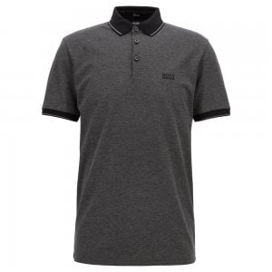 Boss Business Prout 10 Polo Shirt in Black
