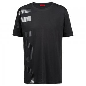 Hugo Daws-U1 T-Shirt in Black