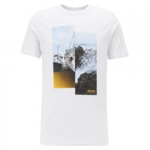 TLax 2 T-Shirt in White