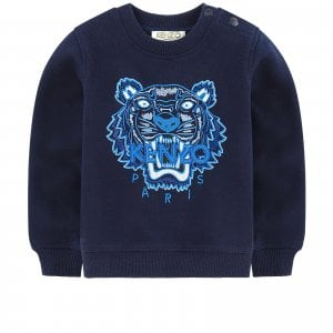 2-4 Years Tiger Sweatshirt in Navy