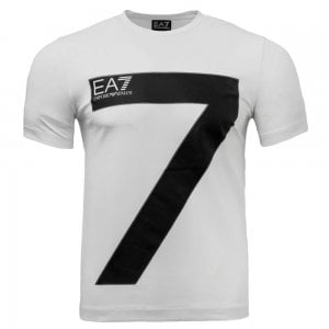 EA7 Big-Seven T-Shirt in White