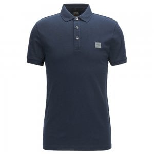 Boss Casual Passenger Polo Shirt in Dark Blue