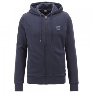 Boss Casual Znacks Sweatshirt in Dark Blue