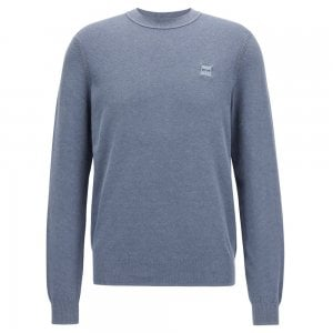 Boss Casual Kalassy Knitwear in Open Blue