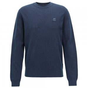 Boss Casual Kalassy Knitwear in Dark Blue