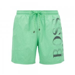 Octopus Swim Shorts in Green