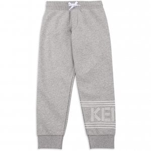 14-16 Years Logo Jogging Bottoms in Grey