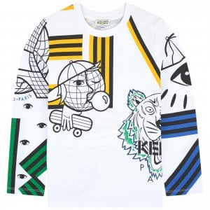 8-12 Years Eugenio T-Shirt in White