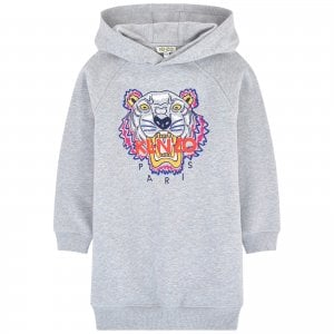 14-16 Years Tiger Dress in Grey