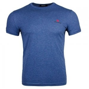 Dsquared2 Small Logo T-Shirt in Navy
