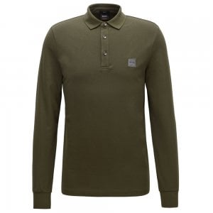 Boss Casual Passerby Polo Shirt in Dark Green