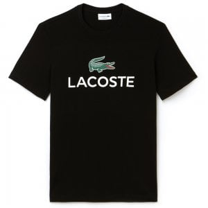 Lacoste Big Logo T-Shirt in Black
