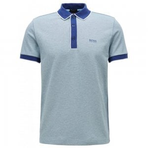Boss Athleisure Paddy5 Polo Shirt in Dark Blue