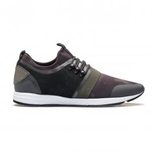 HUGO Hybrid_Runn_Neo Trainers in Camouflage