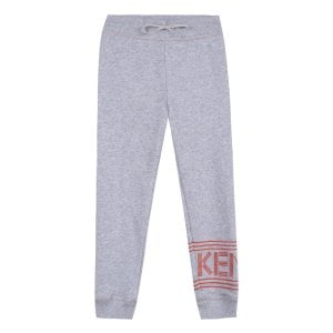8-12 Years Logo Jogging Bottoms in Grey