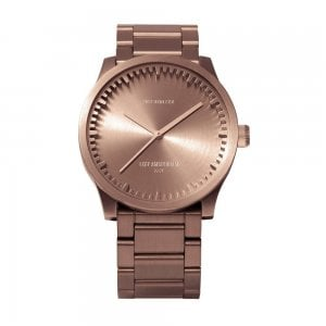 S38 Metal Watch in Rose Gold