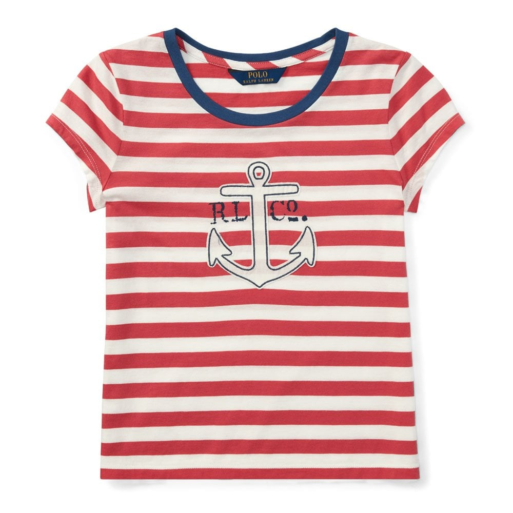 Shirt T Anchor White Red In And PXZiuk