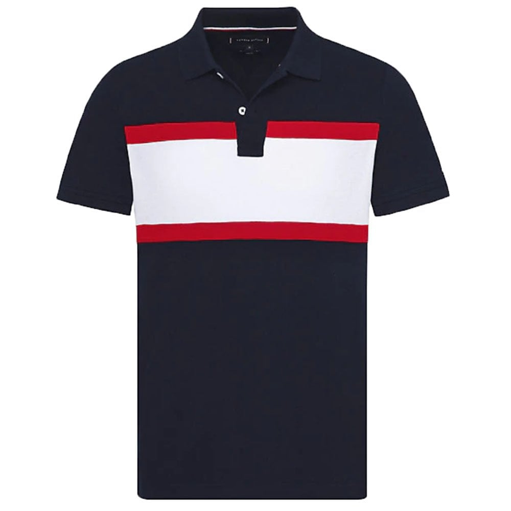 8be27aeb3 WCC CNS Mix Polo Shirt in Navy