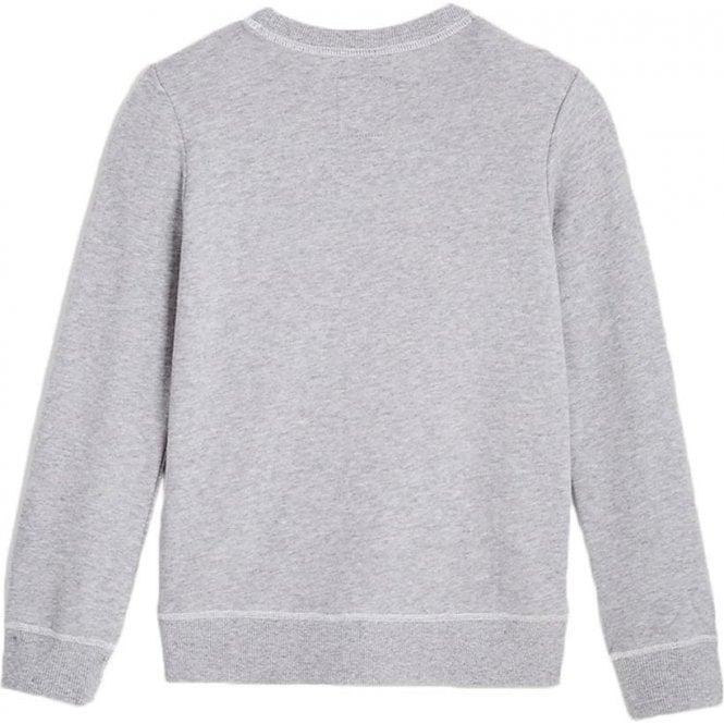 be6298afa True Kids Crew Sweatshirt in Heather Grey