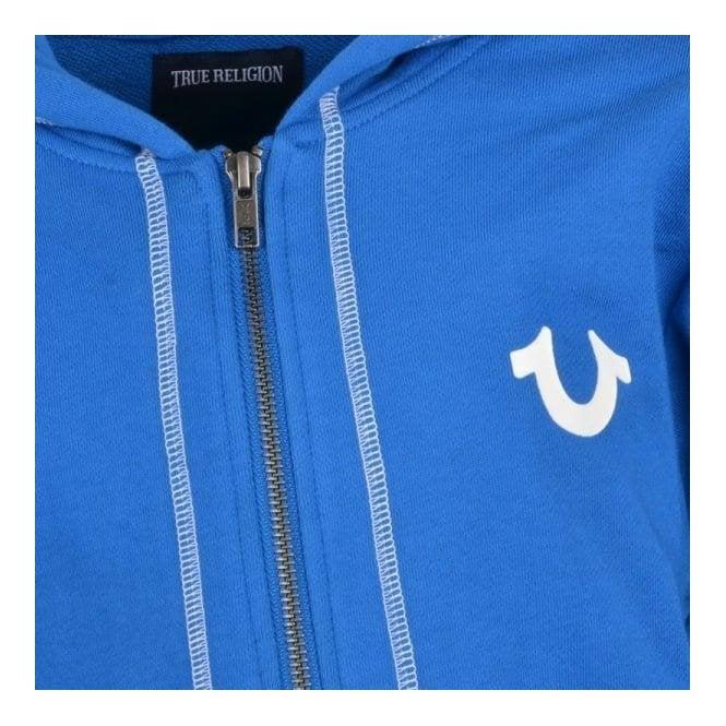 f31bddcd33e0 True Kids Hoodie Terry Sweatshirt in Royal Blue