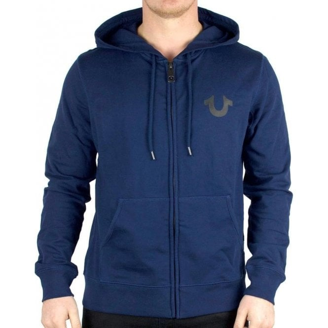 4a8247d4b True Religion Crafted With Pride Hoodie in Navy