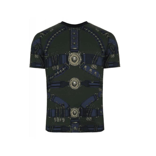 Kameleon Van Versus Versace shirt T Riemprint Herenkleding Heritage IYE2WDH9