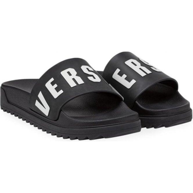 967aa637e2ac82 Versus Versace Logo Sliders in Black