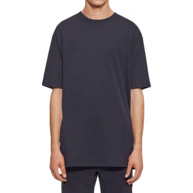e89c10347e2 Zip Side Detail T-Shirt in Black