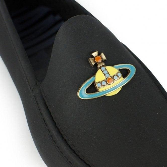 Logo Shoes in Black Chameleon Menswear